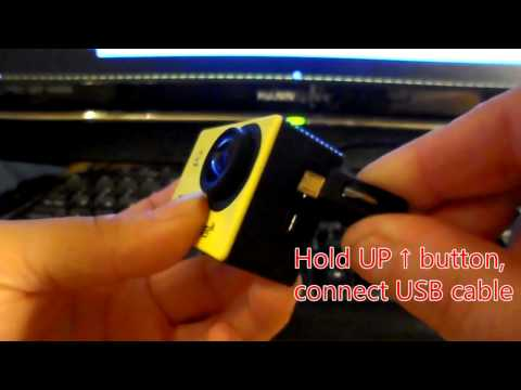 How To Flash (Write) Newer Firmware to Allwinner V3 4k Action Cameras Q3H, F60, Wimius, Excelvan etc