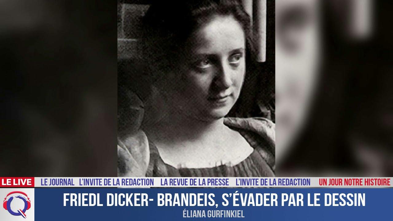 Friedl Dicker- Brandeis, s'évader par le dessin - Un jour notre Histoire du 6 mai 2021