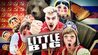 Смотреть клип Little Big - Everyday I'M Drinking