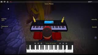 Right Behind You - Team Fortress 2 di: Mike Morasky su un pianoforte ROBLOX.