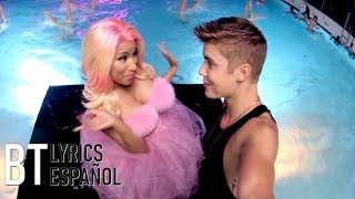 Justin Bieber - Beauty And A Beat ft. Nicki Minaj (Lyrics + Español) Video Official