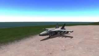 [KSP STOCK] K-18 SuperHornet (F/A-18 SuperHornet)
