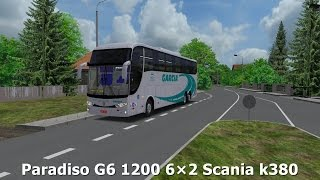 OMSI 2 - MARCOPOLO Paradiso G6 1200 6x2 Scania k380 [+DOWNLOAD]