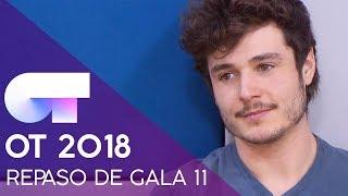 REPASO DE GALA | GALA 11 | OT 2018