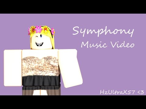 Symphony - Clean Bandit | ROBLOX Music Video