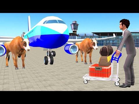 आपातकालीन उड़ान सेवा Emergency Flight Service हिंदी कहनिया Hindi Kahaniya Funny Comedy Video