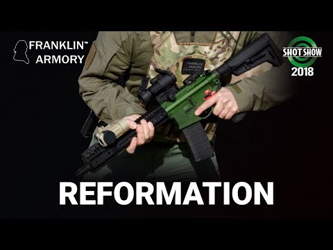 Franklin Armory Reformation - SHOT Show 2018 Day 1