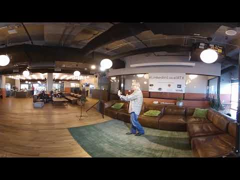 Jack Allen speaking at Linked In Local ATX on June 15th 2018 @ We Work in the Domain
