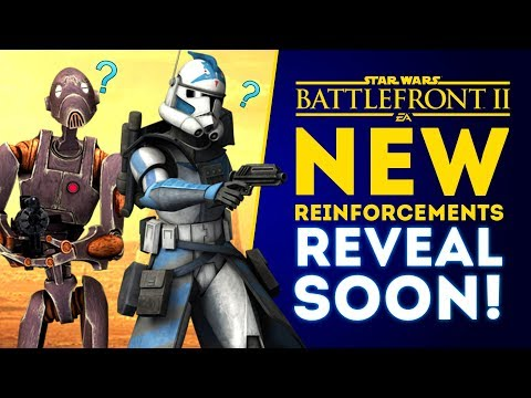 NEW REINFORCEMENTS REVEAL SOON! Anakin Skywalker Changes! - Star Wars Battlefront 2 thumbnail
