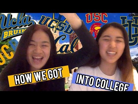 how we got into college | sat, gpa, extracurriculars, essays, etc.