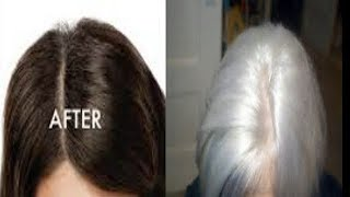With No Chemical Turn Your Gray Hair Into Black In Just 30 Minutes