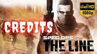 Spec Ops The Line   Credits