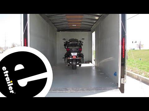 B&W Biker Bar Motorcycle Tie Down System for Trailers Installation - etrailer.com