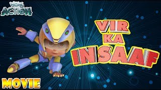 Vir: The Robot Boy | Hindi Cartoons for kids | Vir Ka Insaaf | Movie | WowKidz Action