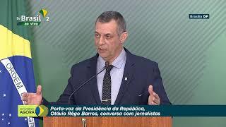 Entrevista Coletiva com o Porta-voz da Presidência, Otávio Rêgo Barros