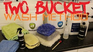 How to clean your car using the 2 bucket wash method - Safe car washing