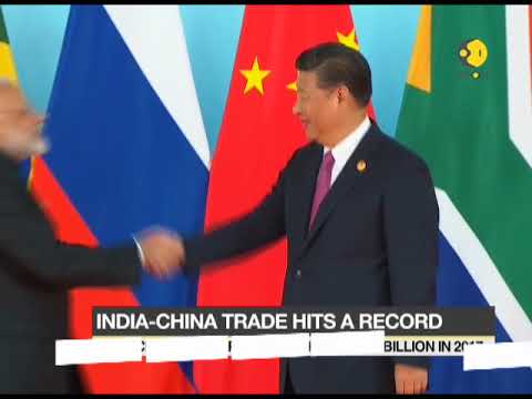 India - China Trade Hits a record