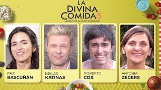 La Divina Comida - Paz Bascuñán, Roberto Cox, Antonia Zegers y Neilas Katinas