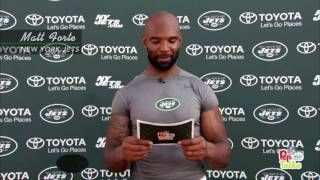 Ryan Fitzpatrick, Matt Forte & More Jets Get Pep Talks from Young Fans | NFL