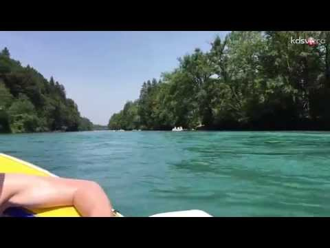 Boat Trip On The Aare River, From Thun To Bern