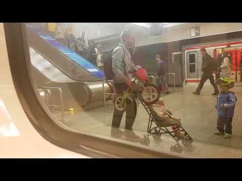 Метро Прага- Линия А | Praha Metro- Line A Nemocnice Motol- Depo Hostivař