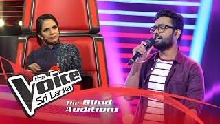 Jayod Nawarathne - Ananthayata Yana (අනන්තයට යන පාර දිගේ)| Blind Auditions | The Voice Sri Lanka