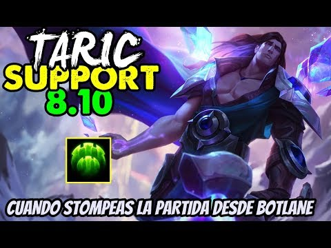 how to play taric support s8