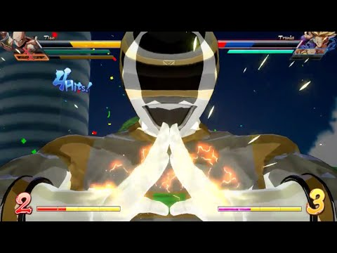 Power Rangers Fighter Z: Zhane Mod In Action (MegaSilver)(In Space Silver)