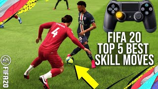 FIFA 20 - Top 5 Meta Easy SKILL MOVES To Beat Your Opponent & Get More Wins! (TUTORIAL POST PATCH)