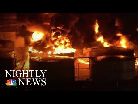 Massive Chemical Fire Could Burn For Two More Days, Officials Say | NBC Nightly News