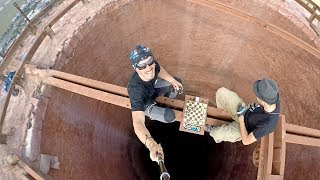 Playing Chess on 280m Chimney