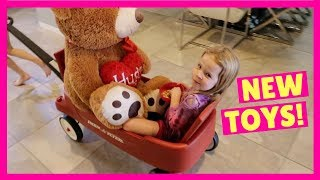 Lucy Buys TONS of Toys at Walmart
