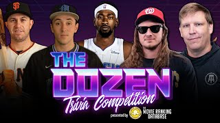 Trivia Showdown: NBA & MLB Stars Team Up With One Of League's Worst Players (Ep. 083 of 'The Dozen')