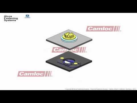 CAMLOC® QUICK RELEASE FASTENERS - ¼-Turn – 991F Series
