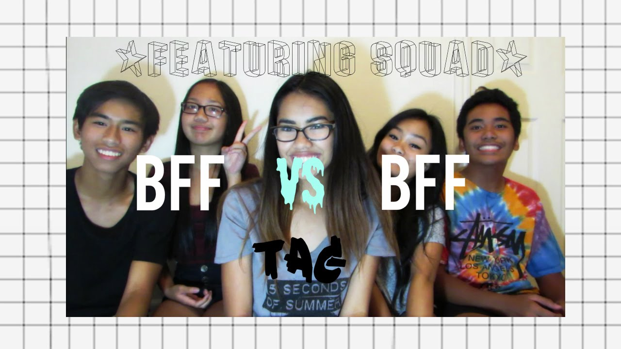 Best friend vs best friend tag ft squad sunnydecastro youtube