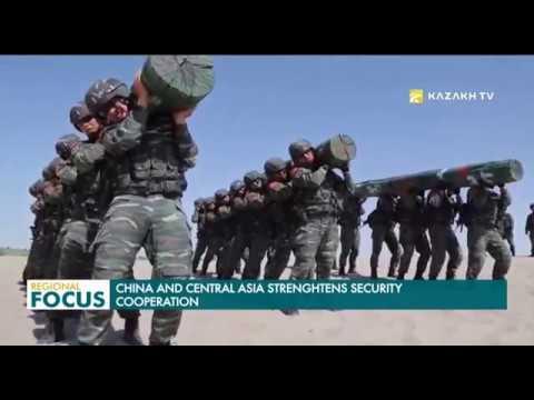 Китай и Кыргызстан проводят совместные антитеррористические учения