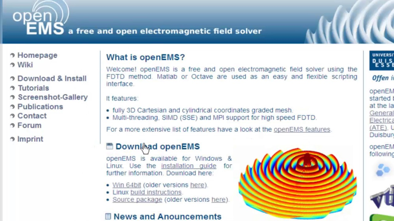 openEMS - Introduction (p1)