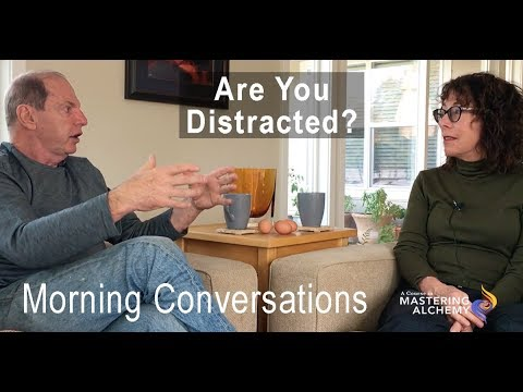 Morning Conversations with Jim Self and Roxane Burnett - Are You Distracted?