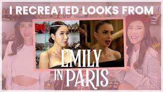 I RECREATED LOOKS FROM EMILY IN PARIS | JAMIE CHUA