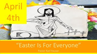 April 4 Worship Southminster Presbyterian Church St. Louis Live Stream