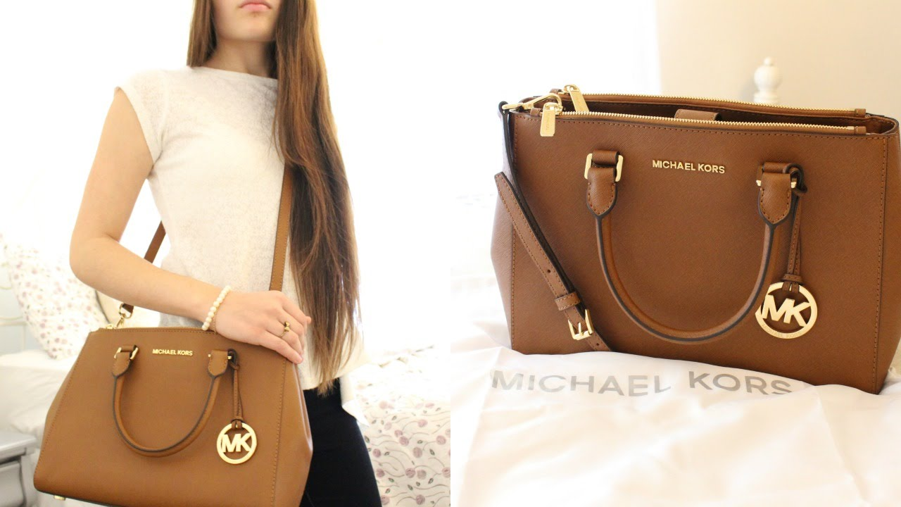 625f789693e8 My New Handbag! | Michael Kors Sutton Review - YouTube
