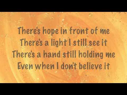 Danny Gokey - Hope In Front of Me - with lyrics (2014)