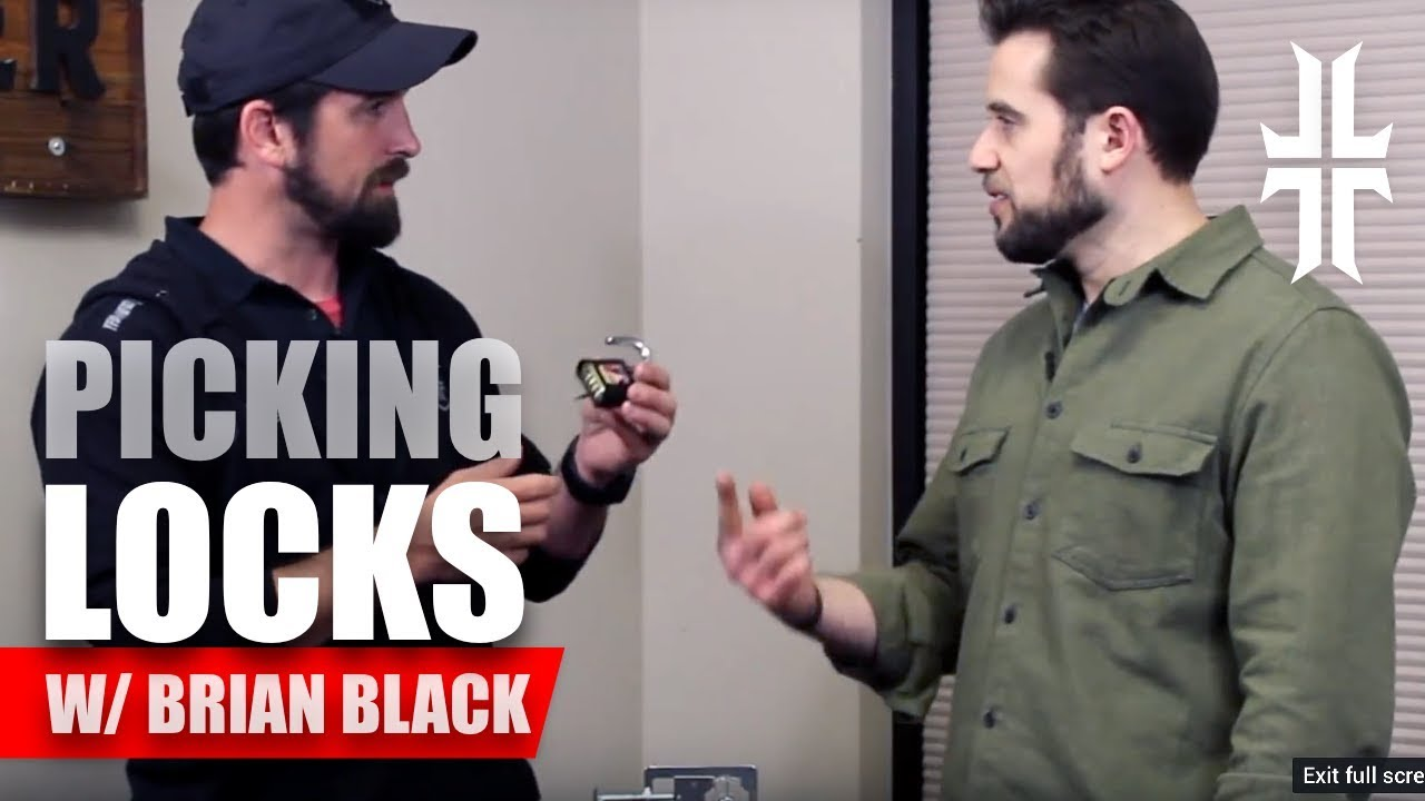 How to Pick a Lock and get a lock pick set with Bryan Black of ITS