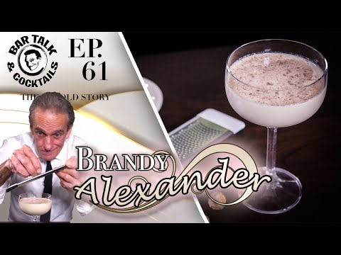 How to make a Brandy Alexander - Classic Cocktails