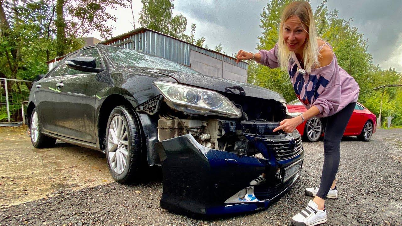 Моя Камри из такси. Попадос на 60 000 рублей. Восстановление Toyota Camry
