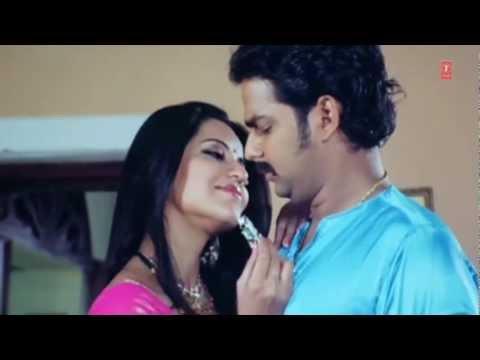 Sexy Monalisa in Red Saree ( An uncut scene from bhojpuri movie Kartavya)