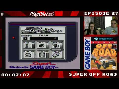 Beating Game Boy Games #27 Super Off Road Part 1