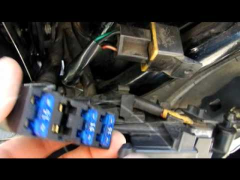 Harley Sportster Wiring Diagram 2009 Ford Explorer Radio Fuses - Youtube