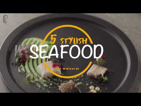 5 Stylish Seafood Plating | Plate It Fancy | Sanjeev Kapoor Khazana