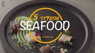 5 Stylish Seafood Plating | Plate It Fancy | Sanjeev Kapoor Khazana